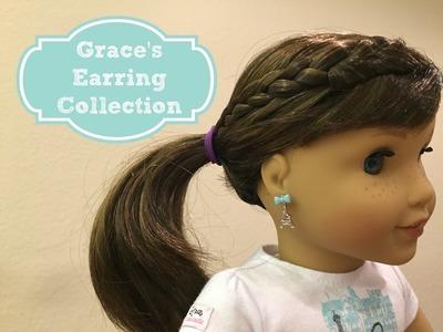Grace's Earrings Set | American Girl Doll Review
