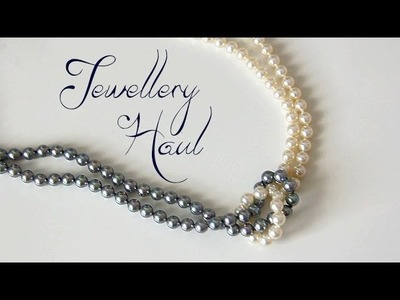 Haul- My grandma sent me jewellery !
