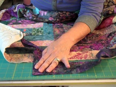 How to Bind a Quilt! 2 of 2
