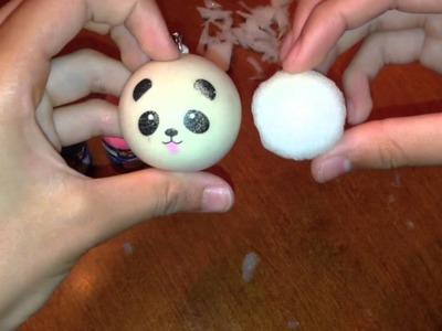 How To Make a Homemade Squishy Panda!