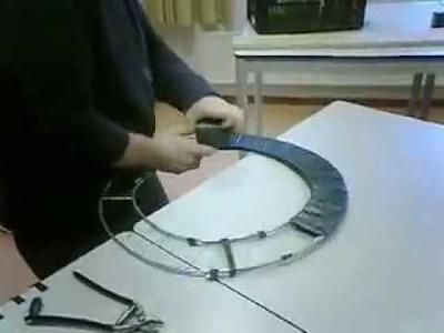 How to make a wreath base