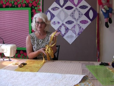 How to make binding for a quilt