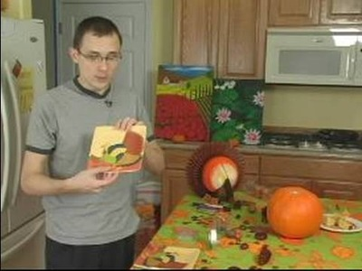 How to Make Thanksgiving Decorations : How to Create Turkey Decorations