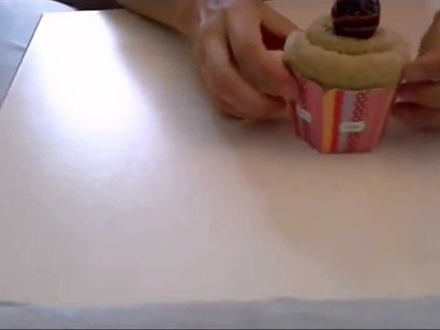 How to make towel cupcakes in 2 minutes