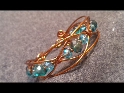 How to make wire bracelet