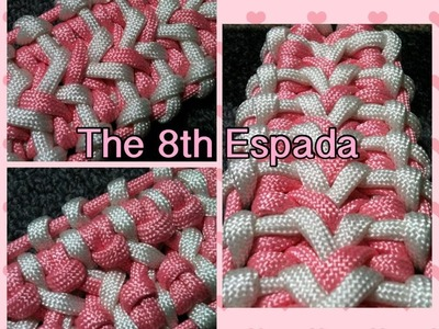 How to tie The 8th Espada By: Joshua Raines and Opossum's Paracord