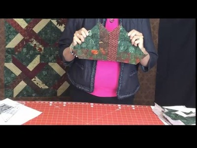 Jelly Roll Quilt Pattern - Another use for your Binding Tool Ruler