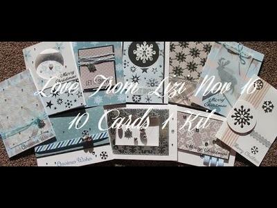 Love From Lizi (LFL) NOV16 10 Cards 1 Kit