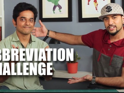 Mad Stuff With Rob - Abbreviation Challenge with Naveen Richard