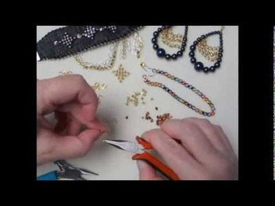 MAKING CHAIN MAILLE WITH CRYSTALETTS A