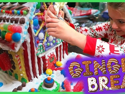 MAKING THE ULTIMATE GINGERBREAD HOUSE!!