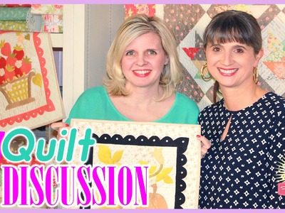 Mini Quilt Discussion! Featuring Kimberly Jolly and Joanna Figueroa