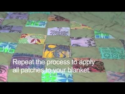 Quilting - Make an Applique Quilt!