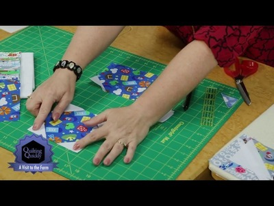 Quilting Quickly - A Visit To The Farm