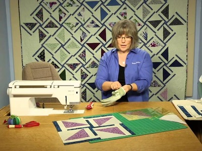 Quilting Quickly: Give it a Whirl - Pinwheel Quilt Pattern