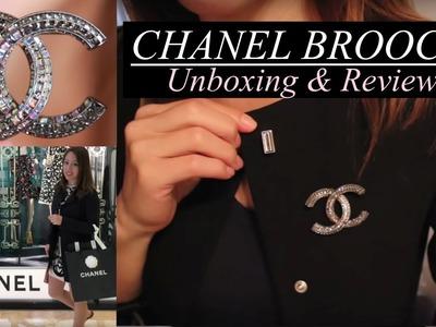 REVIEW | Chanel Crystal Brooch Unboxing