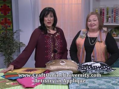 Sulky Artistry In Applique Online Sit & Sew Workshop