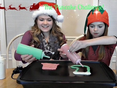 The Holiday Pancake Art Challenge!