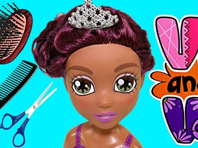 Vi and Va Viviana Color Changer Doll Styling Head - Cabeza de Muñeca 2015 DCTC Toy Review