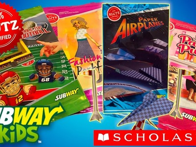 2016 Subway Scholastic The Klutz How to Fold Paper Airplanes #2