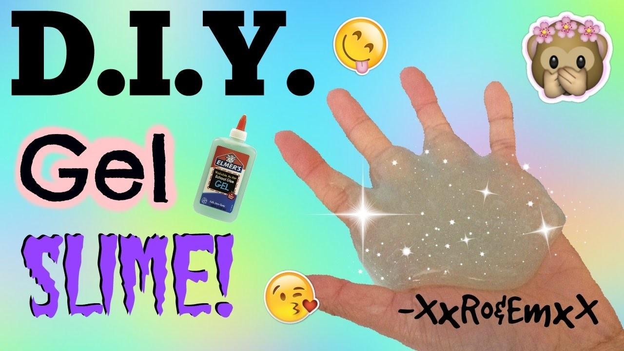 D.I.Y. Gel Slime | How to Make Raindrop Slime! {Super Simple Recipe!}