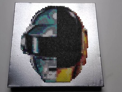Daft Punk | Hama, Perler and PhotoPearls beads