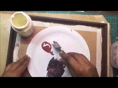 Decoupage with Anita Kejriwal part 2