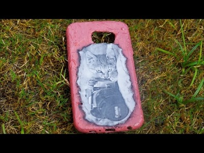 Diy mobile cover| decoupage mobile cover