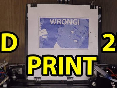 Draw photos with a 3D Printer [EASY TUTORIAL]