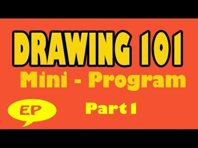 Drawing 101 -Where to Start? (Part 1 of 3) - Easy Pictures to Draw
