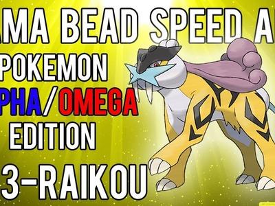 Hama Bead Speed Art   Pokemon   Alpha.Omega   Timelapse   243 - Raikou (Legendary)