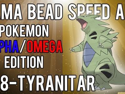 Hama Bead Speed Art | Pokemon | Alpha.Omega | Timelapse | 248 - Tyranitar
