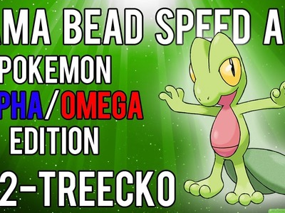 Hama Bead Speed Art | Pokemon | Alpha.Omega | Timelapse | 252 - Treecko