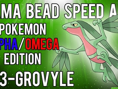 Hama Bead Speed Art | Pokemon | Alpha.Omega | Timelapse | 253 - Grovyle