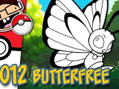 How to Draw #012 BUTTERFREE | Narrated Easy Step-by-Step Tutorial | Pokemon Drawing Project