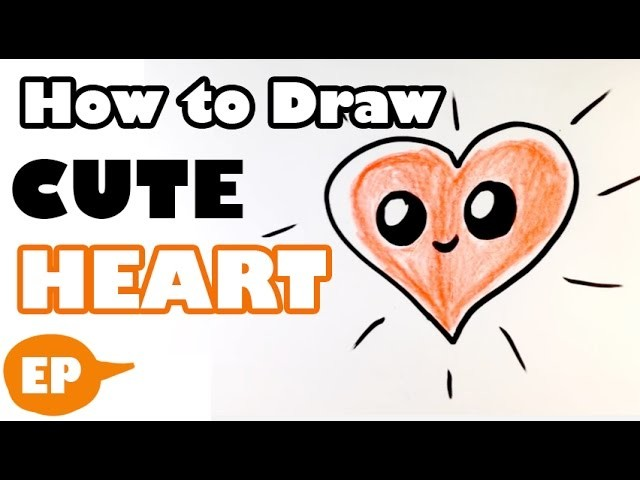 How To Draw A Cute Heart Easy Pictures To Draw