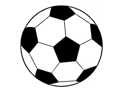 How to Draw a Soccer Ball (easy)
