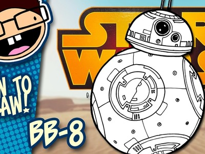 How to Draw BB-8 (Star Wars) | Narrated Easy Step-by-Step Tutorial