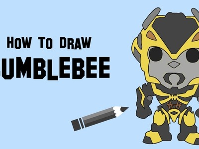How to draw Bumblebee easy