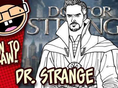 How to Draw DOCTOR STRANGE | Narrated Easy Step-by-Step Drawing Tutorial