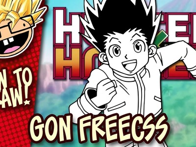 How to Draw GON FREECSS (Hunter X Hunter) | Narrated Easy Step-by-Step Tutorial | Anime Thursdays
