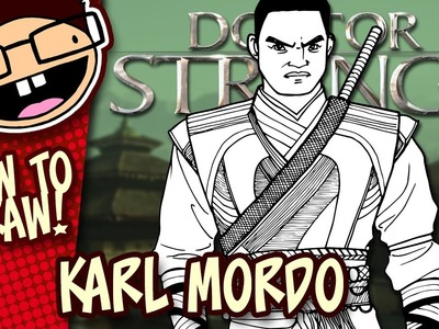 How to Draw KARL MORDO (Doctor Strange) | Narrated Easy Step-by-Step Tutorial