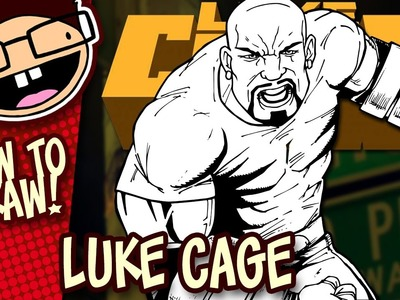 How to Draw LUKE CAGE (Comic Version) | Narrated Easy Step-by-Step Drawing Tutorial