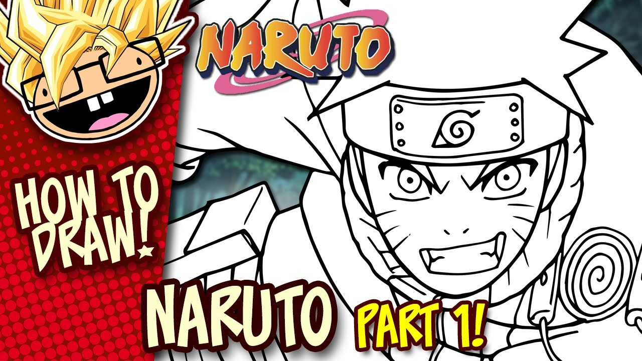 How to draw naruto naruto part 1 easy step by step drawing tutorial anime thursdays
