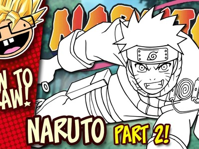 How to Draw NARUTO (Naruto) | PART 2 | Easy Step-by-Step Drawing Tutorial | Anime Thursdays