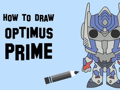 How to draw Optimus Prime easy