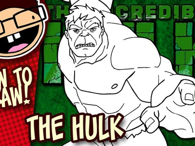 How to Draw THE HULK (Comic Version) | Narrated Easy Step-by-Step Drawing Tutorial