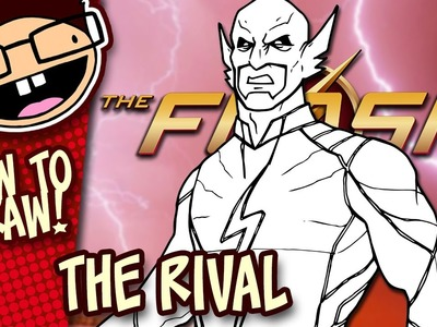 How to Draw THE RIVAL (The Flash Season 3) | Narrated Easy Step-by-Step Drawing Tutorial