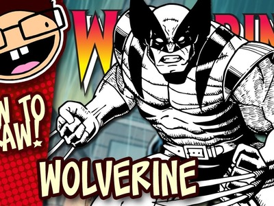 How to Draw WOLVERINE (Comic Version) | Narrated Easy Step-by-Step Drawing Tutorial