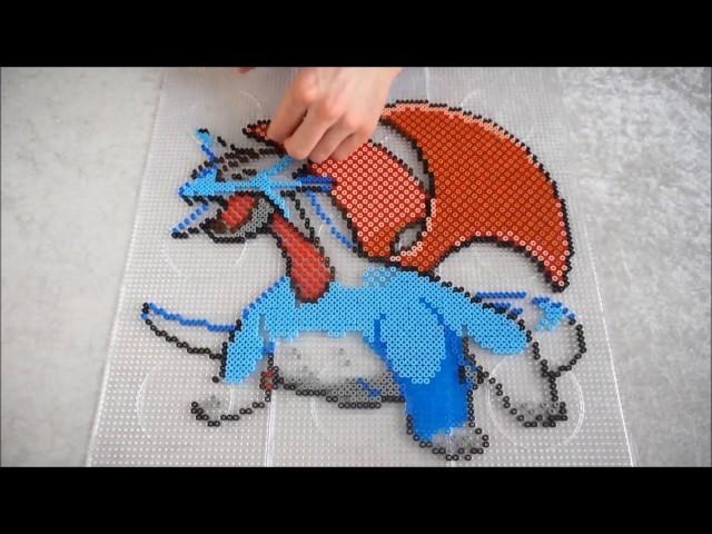 Pokémon SALAMENCE - Hama Beads. Perler Beads